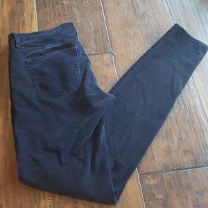 EUC Gap Navy legging Jean cords